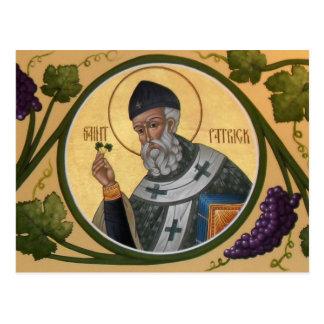 Cartão da oração do ícone de St Patrick