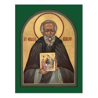 Cartão da oração do St. Andrei Rublev