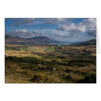 Cartão da paisagem da cortiça