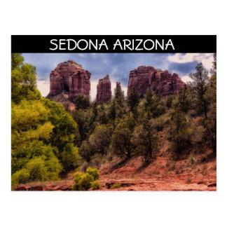 Cartão da paisagem de Sedona