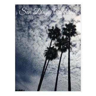 Cartão da palmeira de San Diego
