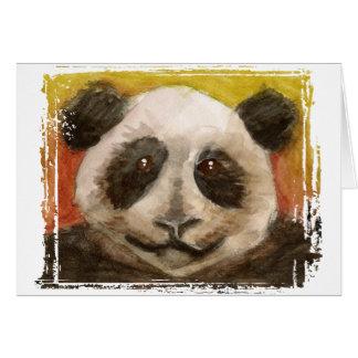 Cartão da panda