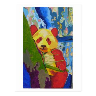 Cartão da panda do pop