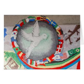 Cartão da parede da paz de CITYarts Londres