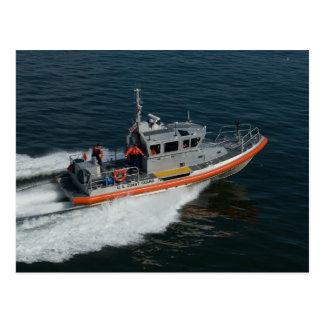 Cartão da patrulha da guarda costeira