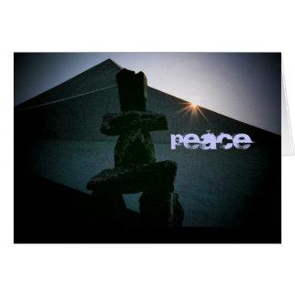 Cartão da paz