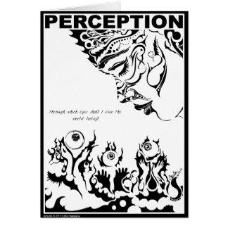 Cartão da PERCEPÇÃO