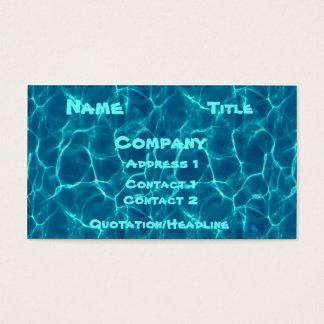 Cartão da piscina