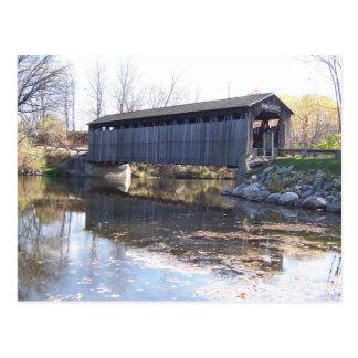 Cartão da ponte coberta de Fallasburg