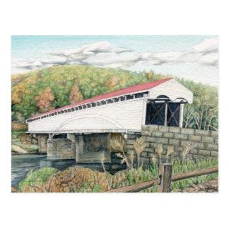 Cartão da ponte coberta de Philippi