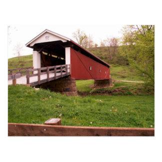 Cartão da ponte coberta de Rinard