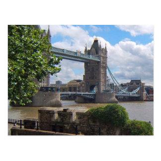 Cartão da ponte da torre de Londres