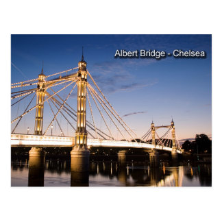 Cartão da ponte de Albert
