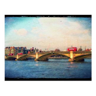 Cartão da ponte de Battersea