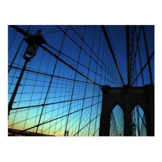 Cartão da ponte de Brooklyn