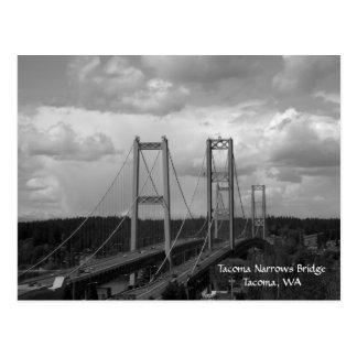 Cartão da ponte de estreitos de Tacoma