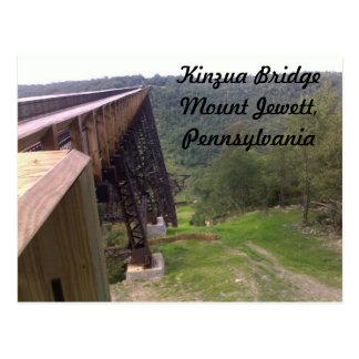 Cartão da ponte de Kinzua