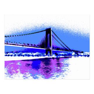 Cartão da ponte de PopArt