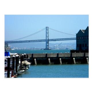 Cartão da ponte de San Francisco Bay