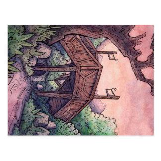 Cartão da ponte do troll da propriedade irreal