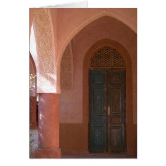 Cartão da porta de Moudira do Al