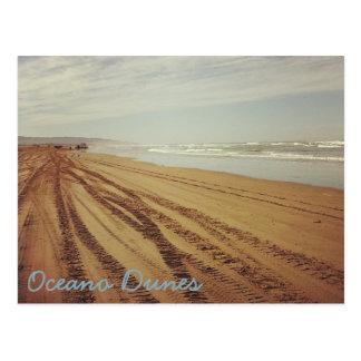 Cartão da praia das dunas SVRA Pismo de Oceano
