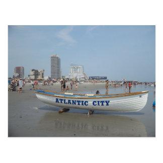 Cartão da praia de Atlantic City