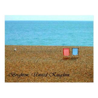 Cartão da praia de Brigghton