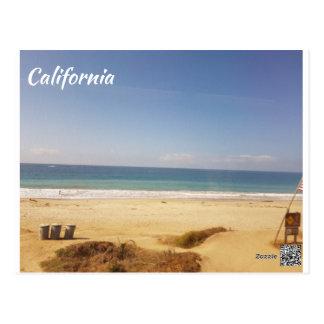 Cartão da praia de Califórnia