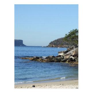 Cartão da praia do Balmoral