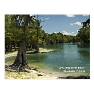 Cartão da praia do rio