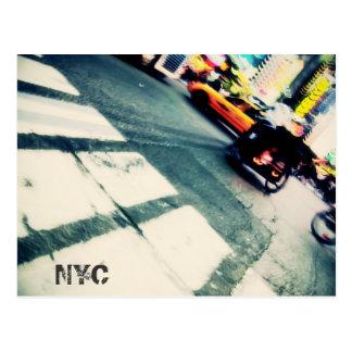 Cartão da precipitação de NYC