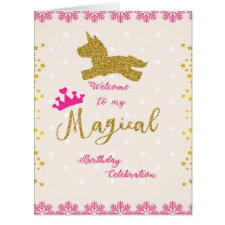 Cartão da princesa cartões de aniversários