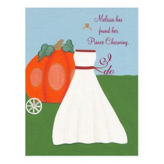 Cartão da princesa chás de panela do divertimento