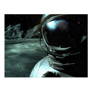 Cartão da probabilidade do cosmonauta