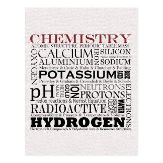 Cartão da química