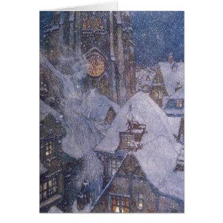 Cartão da rainha da neve de Dulac