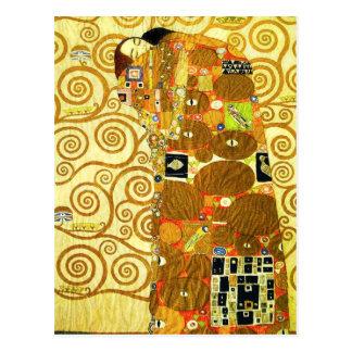 Cartão da realização de Gustavo Klimt Cartão Postal