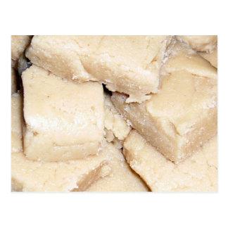 Cartão da receita do Fudge da manteiga de amendoim