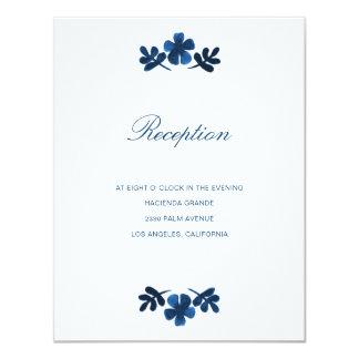 Cartão da recepção de casamento de Otomi do