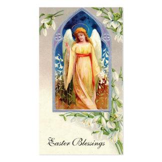 Cartão da relembrança: Bênçãos da páscoa Cartão De Visita