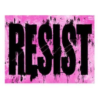 Cartão da resistência do estilo do Grunge