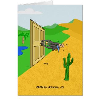 Cartão da resolução de problemas -101