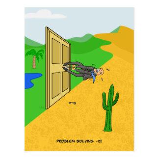 Cartão da resolução de problemas -101 cartões postais