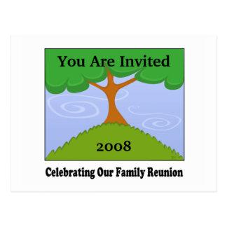Cartão da reunião de família
