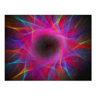 Cartão da rotação da coloração