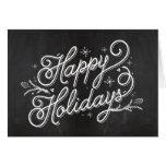 Cartão da rotulação do feriado - boas festas