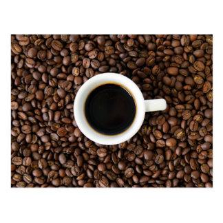 Cartão da ruptura de café