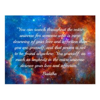Cartão da sabedoria da felicidade de Buddha