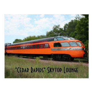 """Cartão da sala de estar de """"Cedar Rapids"""" Skytop"""